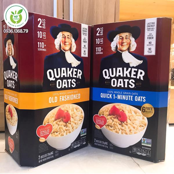 Các loại yến mạch Quaker Oats