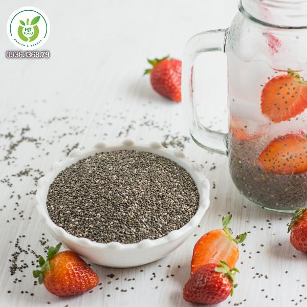 Lợi ích sức khỏe của hạt chia